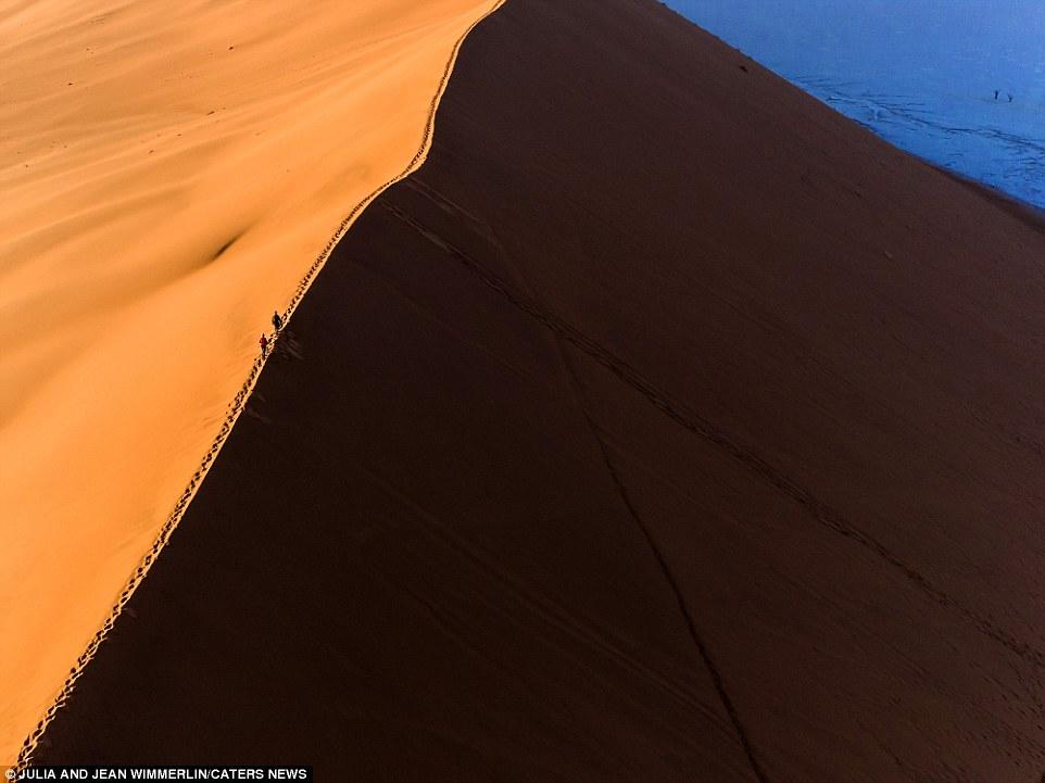 Дюны Намибии: грандиозные замки из песка, воздвигнутые самой природой