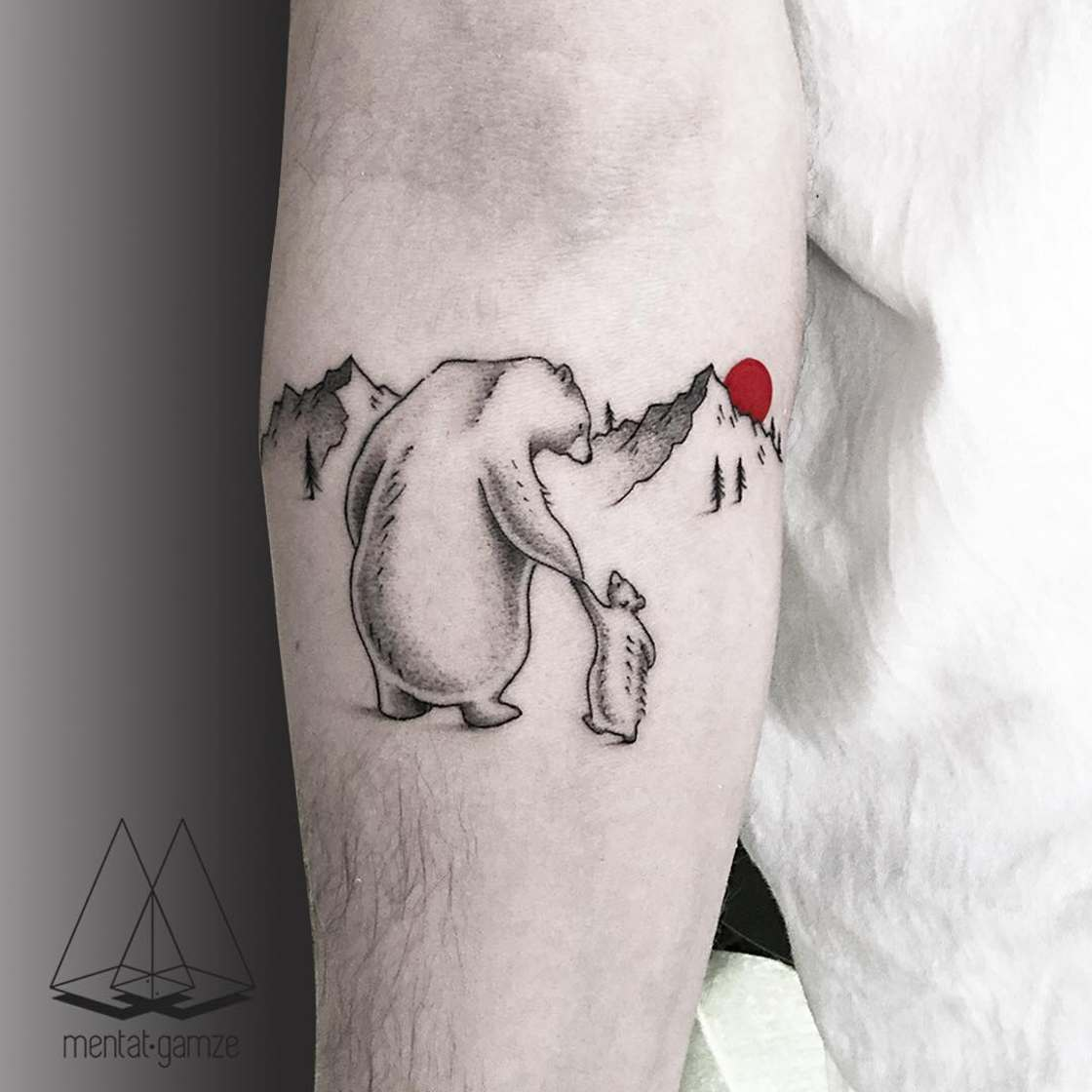 The Red Dot - The poetic tattoos of Mentat Gamze