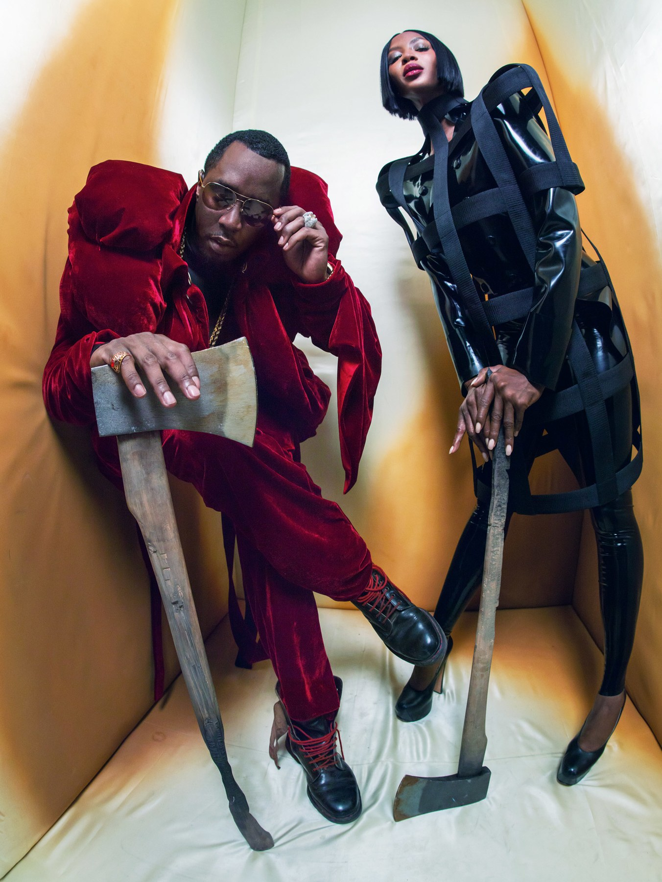 All-Black Cast in Pirelli's 2018 Calendar by Tim Walker (6 pics)