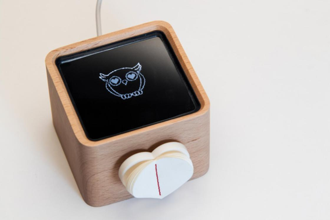 Lovebox – He invents a box to send love messages to his fiancee