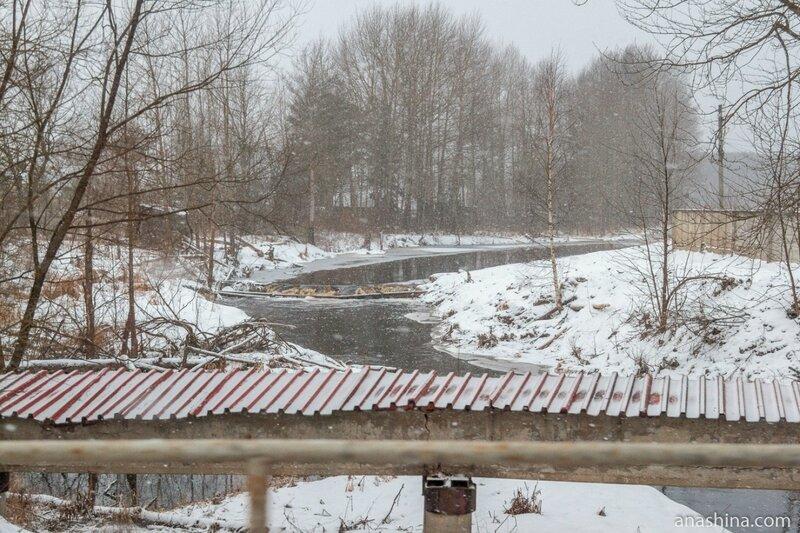 Речушка близ Рыбинска