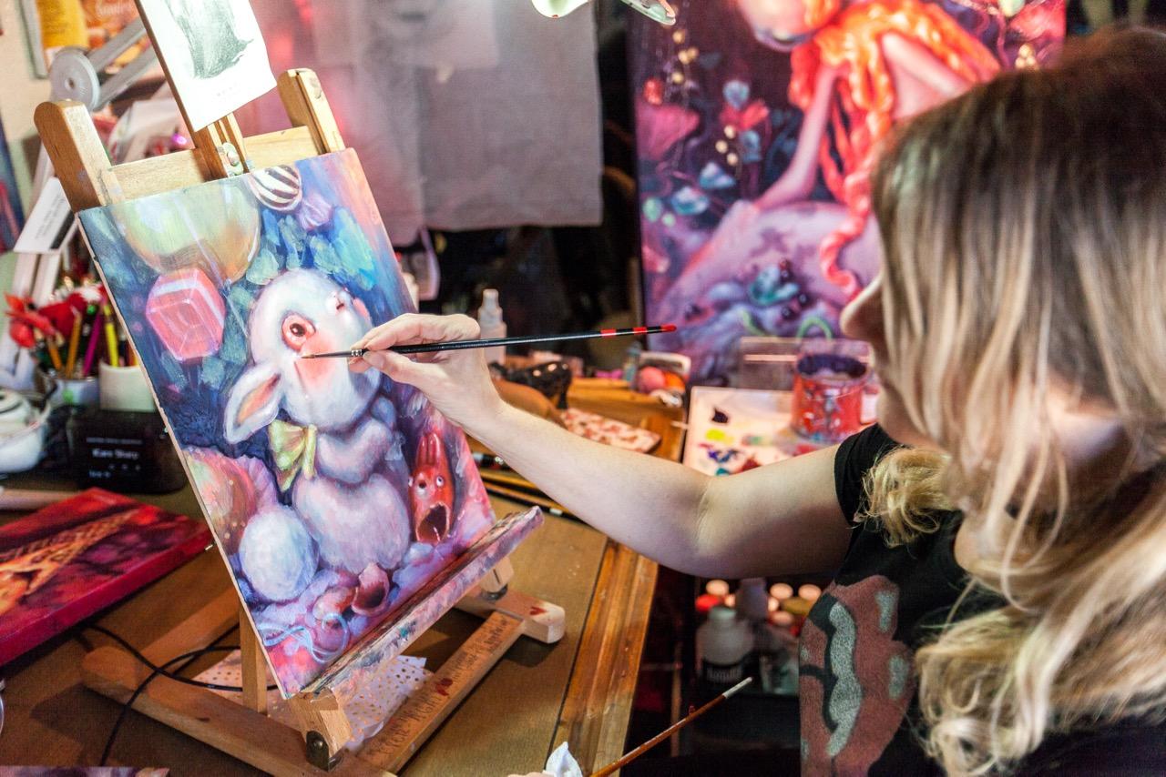 Studio Visits: Brandi Milne