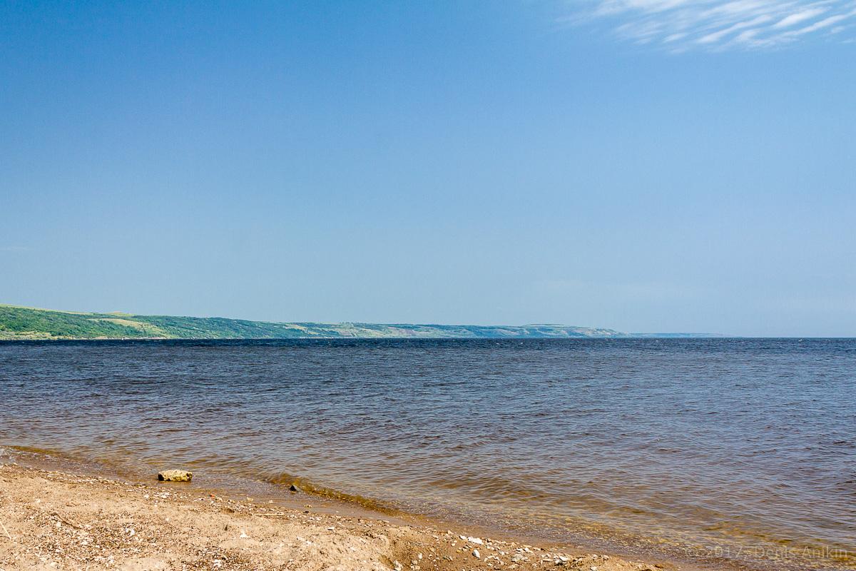 пляж Хвалынск Волга фото 2