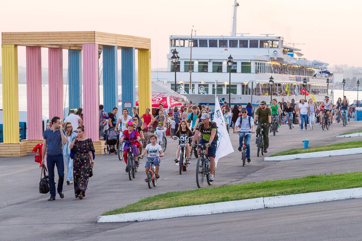 велопарад Леди на велосипеде фото 4