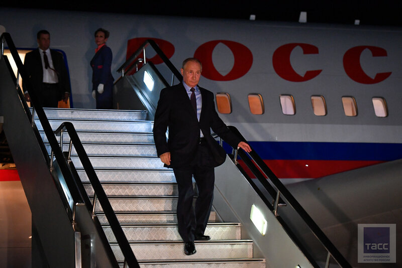 Борт №1 в аэропорту Владивостока