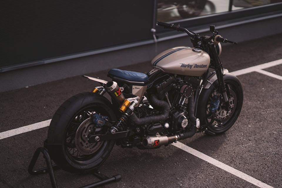 NCT Motorcycles: кастом H-D FXD Dyna Super Glide