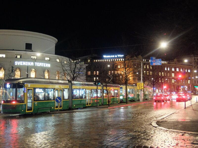 Хельсинки - Вечерний трамвай