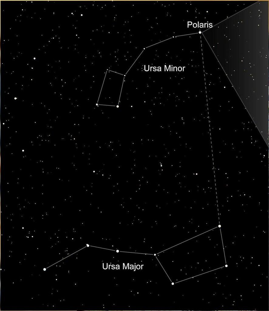Полярная звезда. Вид с HST. Polaris alpha ursae  minoris - 01.jpg