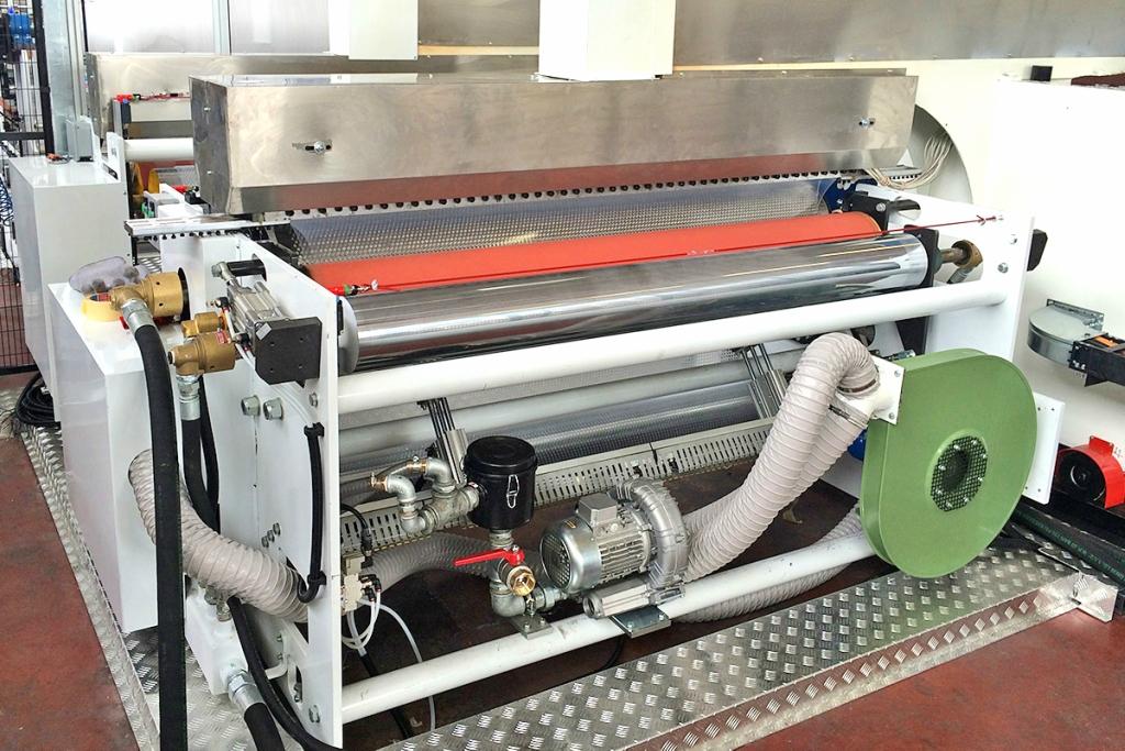 итальянский станок по производство пленки с пузырьками