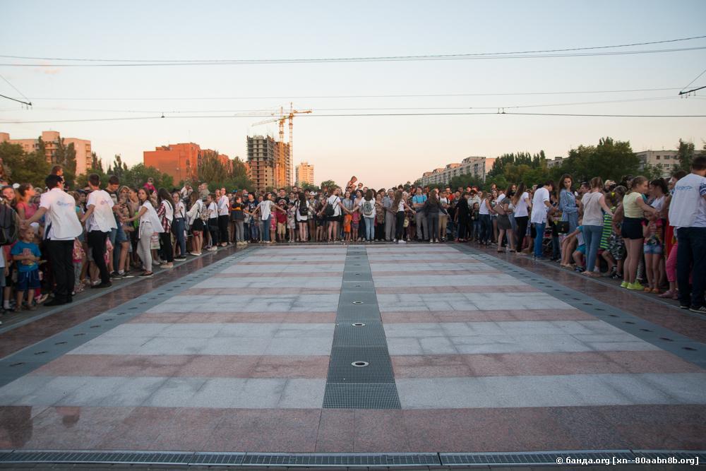 Открытие сухого фонтана. Красноармейский район. Волгоград