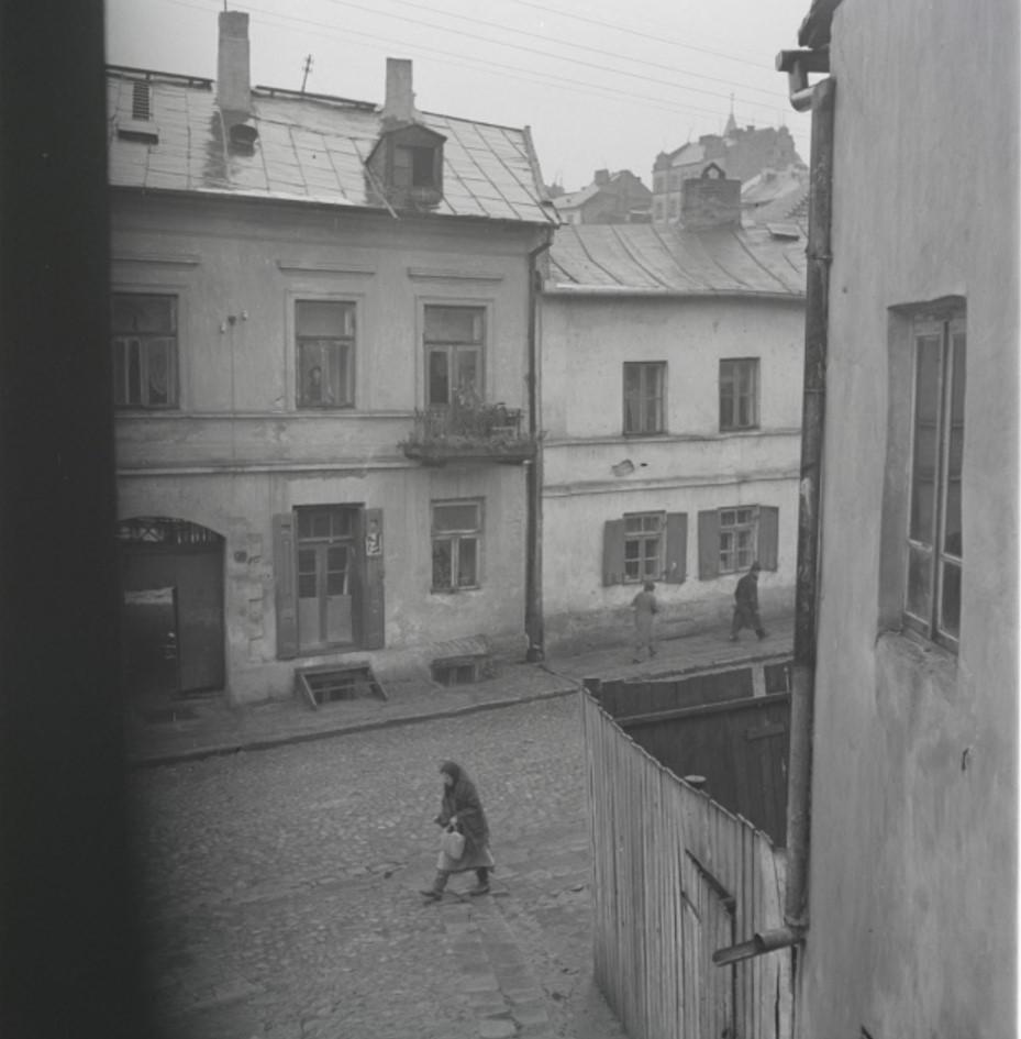 Вид на улицу в еврейском квартале