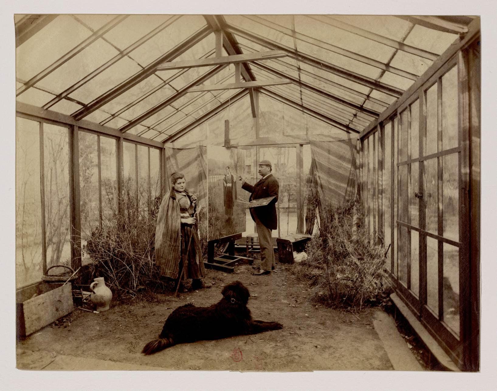 19. Дэниел Риджуэй Найт (1839-1924) — американский художник-реалист, представитель жанровой живописи