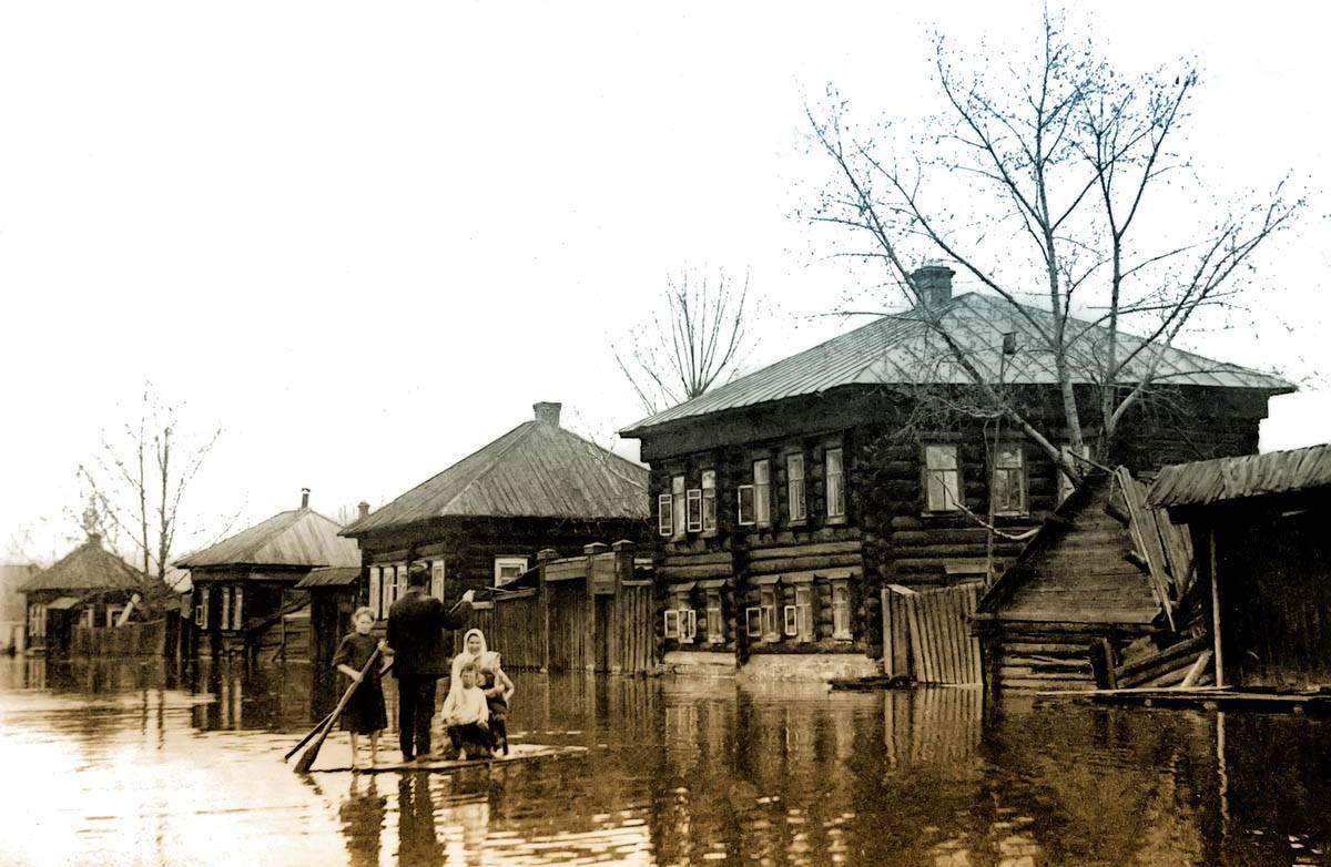 Затопление Мотовилихи. 1914