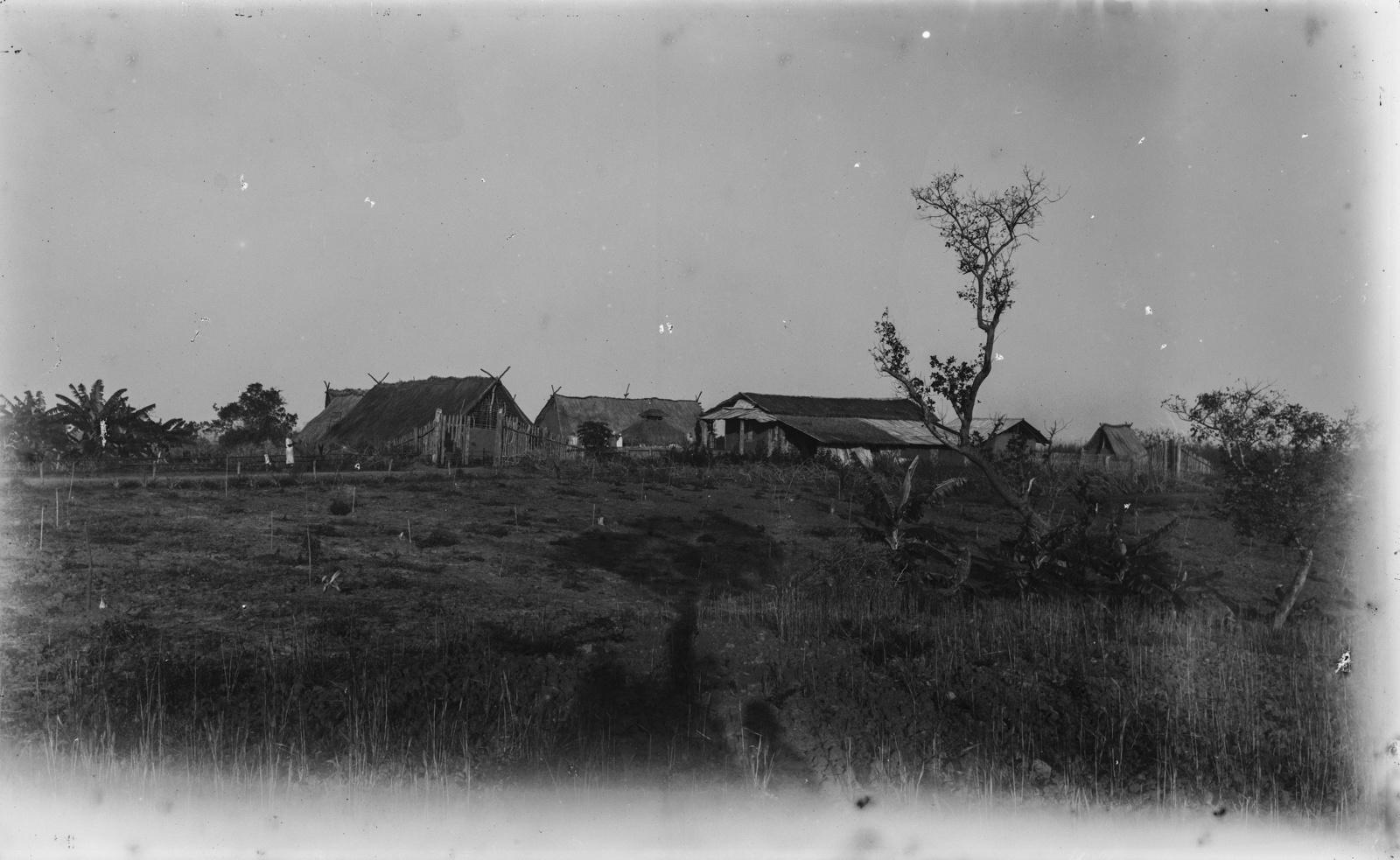 341. Станция немецкого общества Восточной Африки (ДОАГ), расположенная на реке Руву (Кингани)