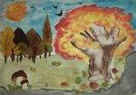 """Романенко Тимофей (рук. Лягина Надежда Александровна) - """"Осень, которую я видел на выходных..."""""""