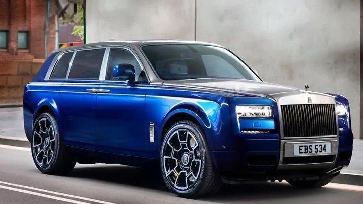 Rolls-Royce Cullinan получил выдвигающиеся изсалона сидения истолик