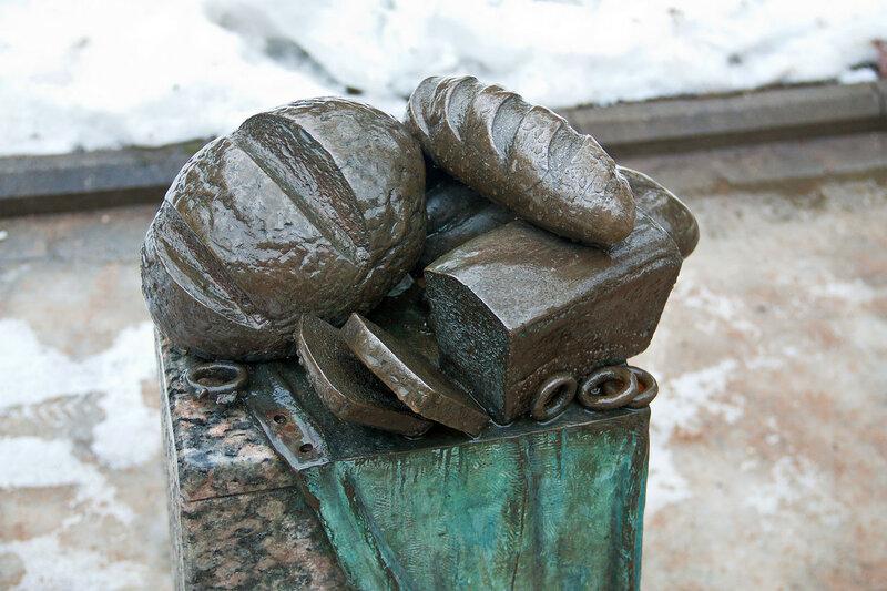 Памятник хлебу в Зеленогорске