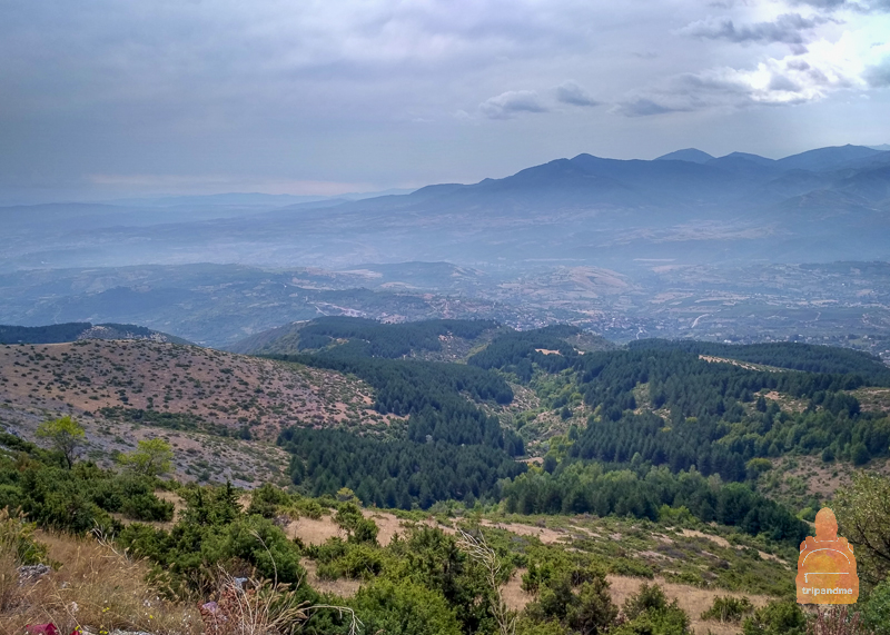 Гора Водно в Скопье