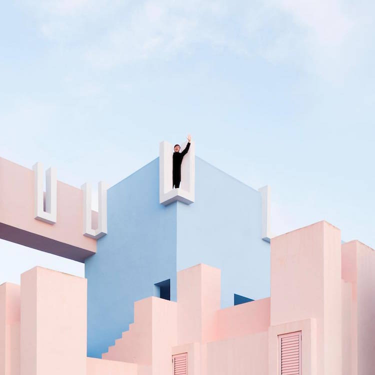 Игра с городскими пространствами: пара из Валенсии дополняет собой архитектурные образы