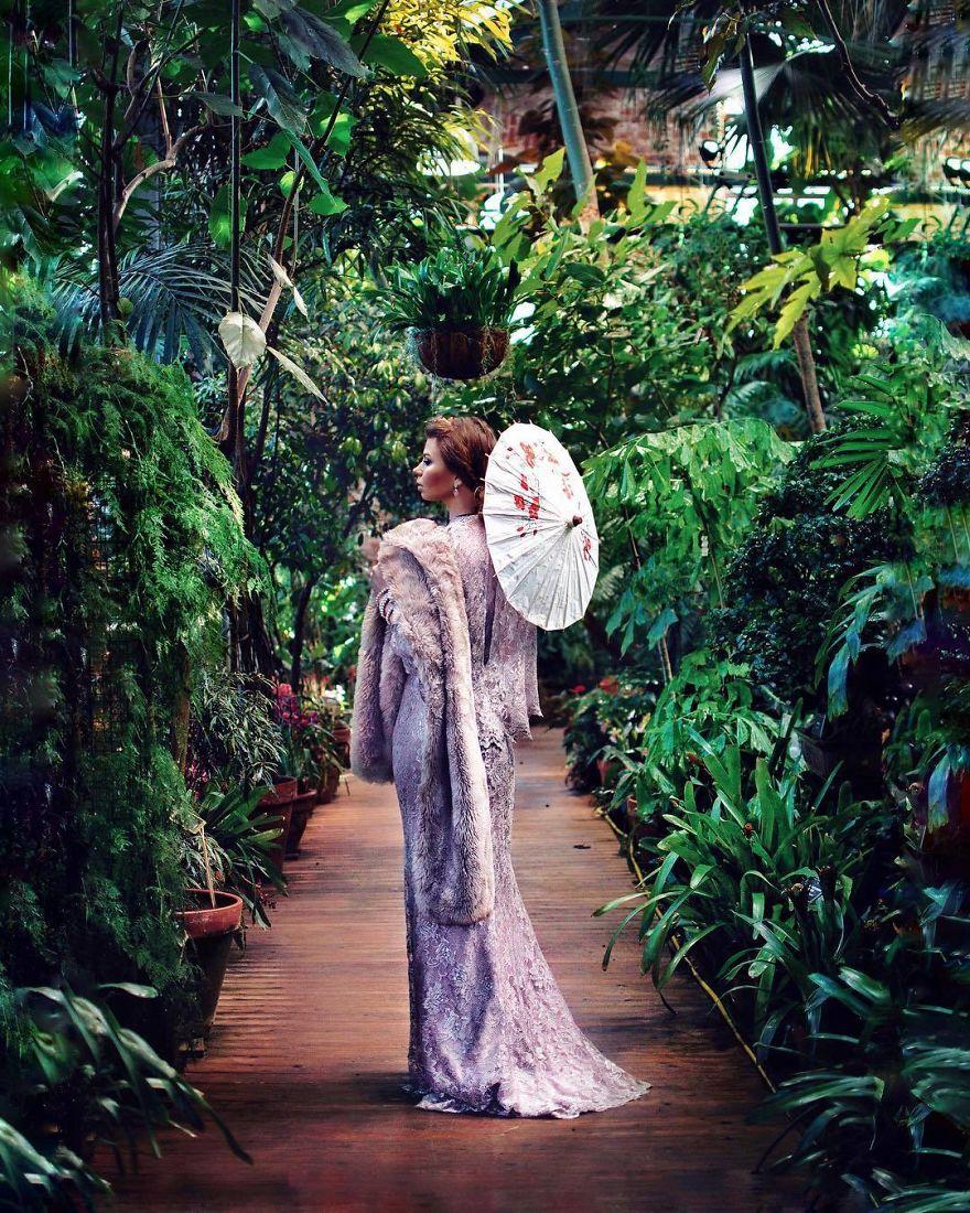 Ботанический сад, Москва.