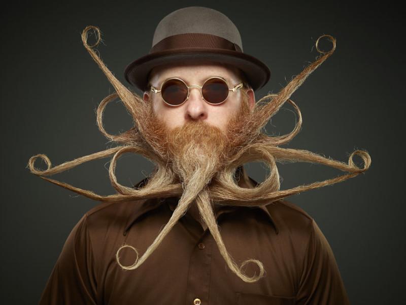 Если любишь – отпусти: в Техасе выбрали лучшую бороду в мире (18 фото)