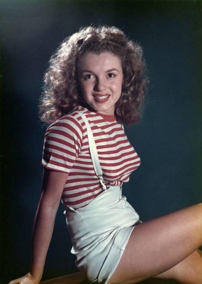 Калифорния, 1946 год.      Норма Джин Мортенсон в 5 лет.