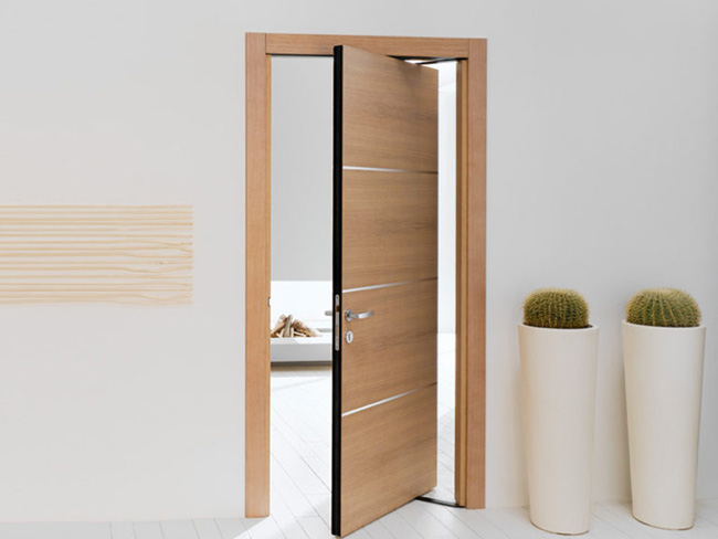 Роторные или качающиеся двери