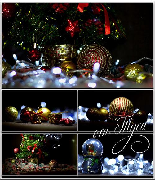 Новогодние футажи / Christmas Footage