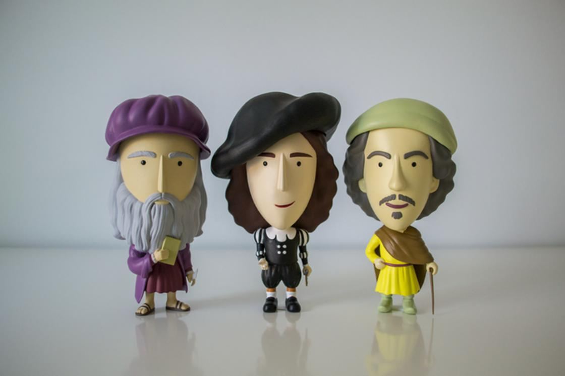 Famous artists as adorable figurines! (16 pics)