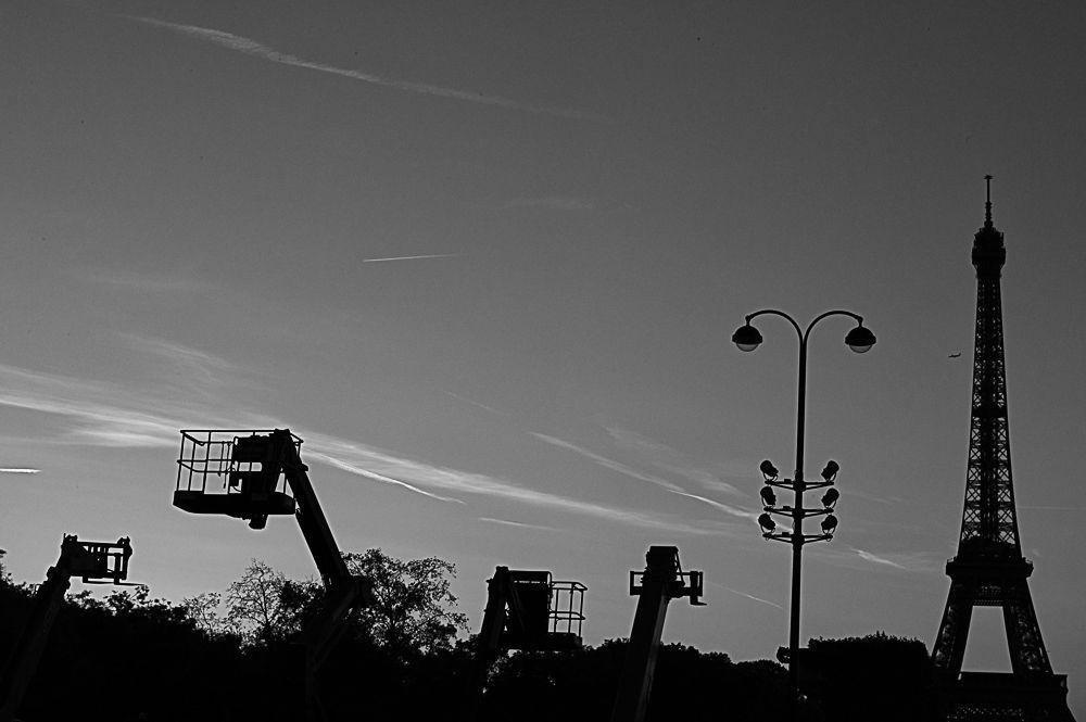 Parisian Scenes in Black and White