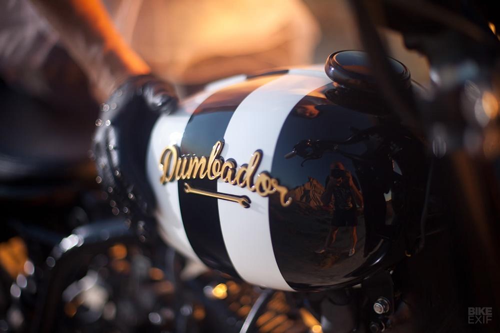 Dumbador: кастом Yamaha TW Boo