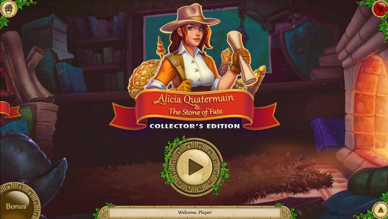 Alicia Quatermain and the Stone of Fate CE