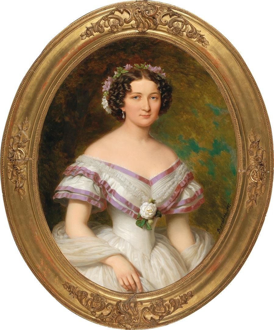 Portrait of Countess Maria Gabriella Josepha Anna Szápáry, née Atzél de Borosjenö (1834–1912)..jpg