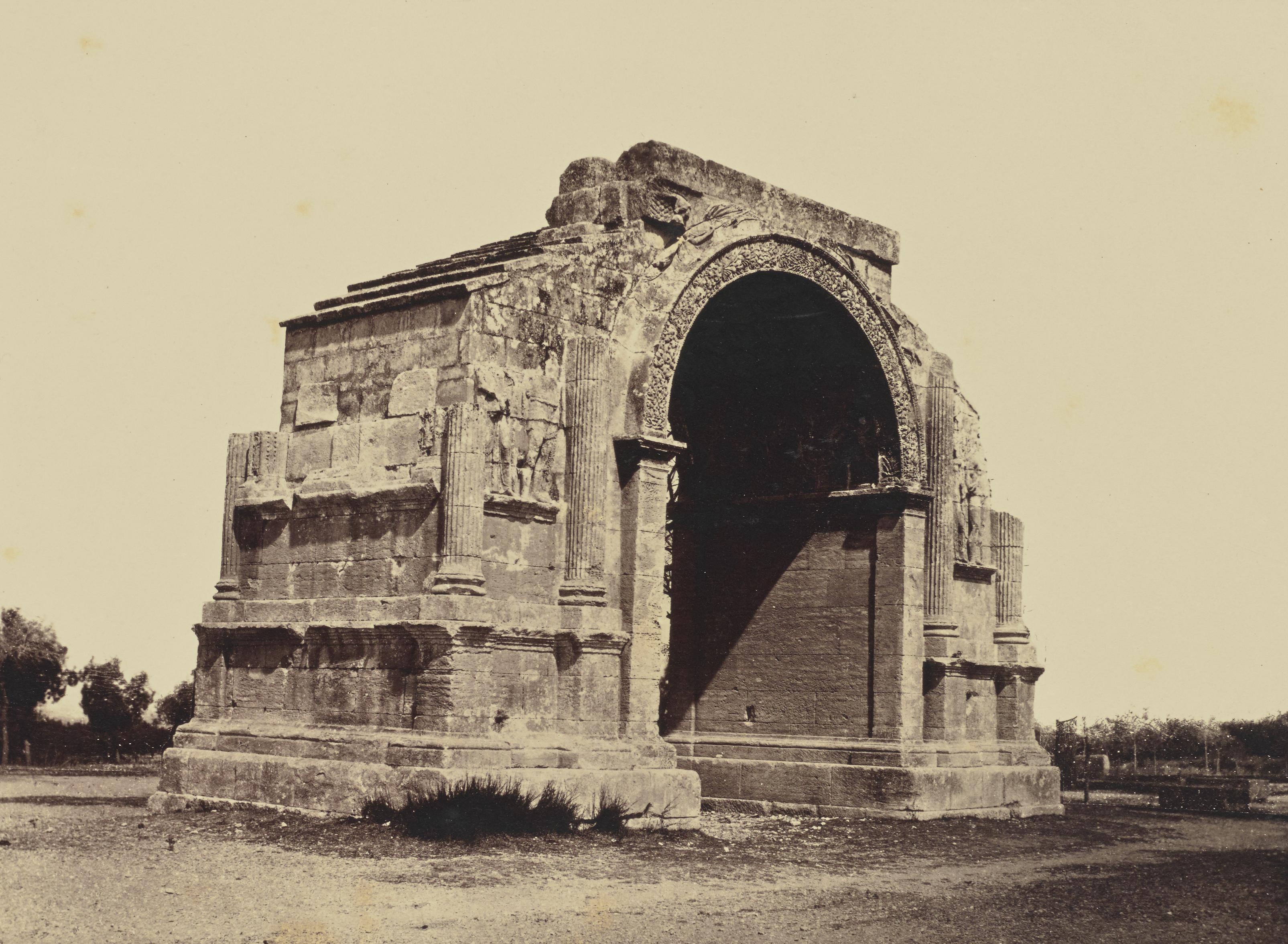 Сен-Реми-де-Прованс. Триумфальная арка. 1862