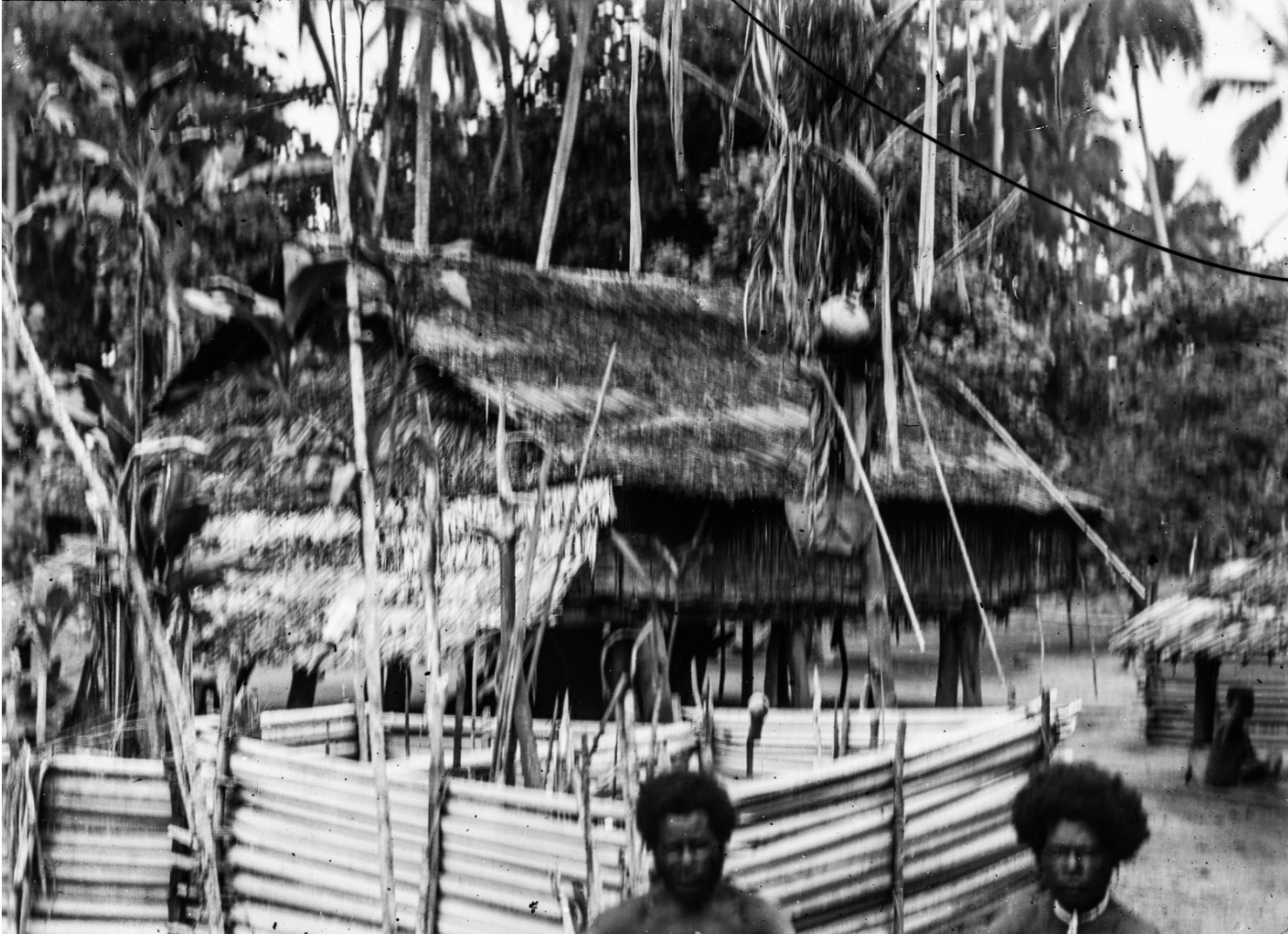 Захоронения в деревне