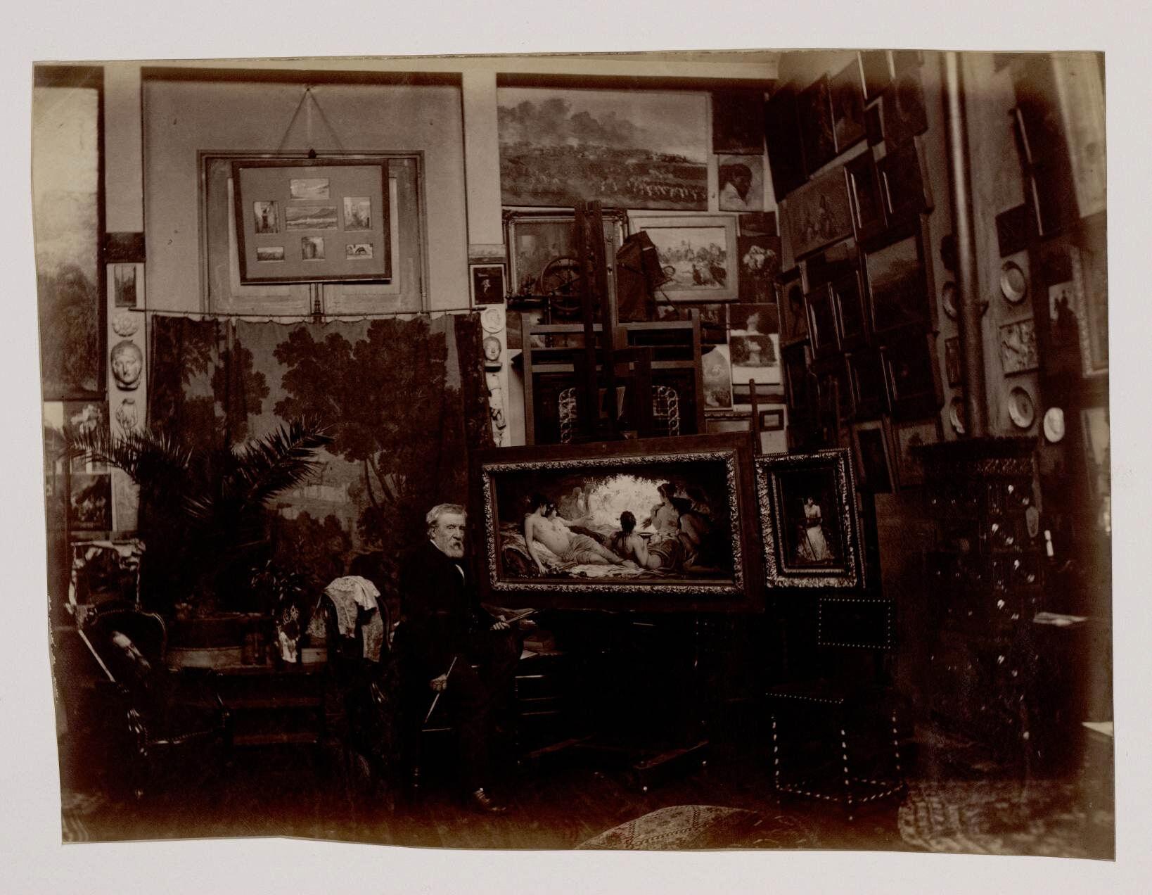 Феликс Жозеф Барриа (1822—1907) — французский художник
