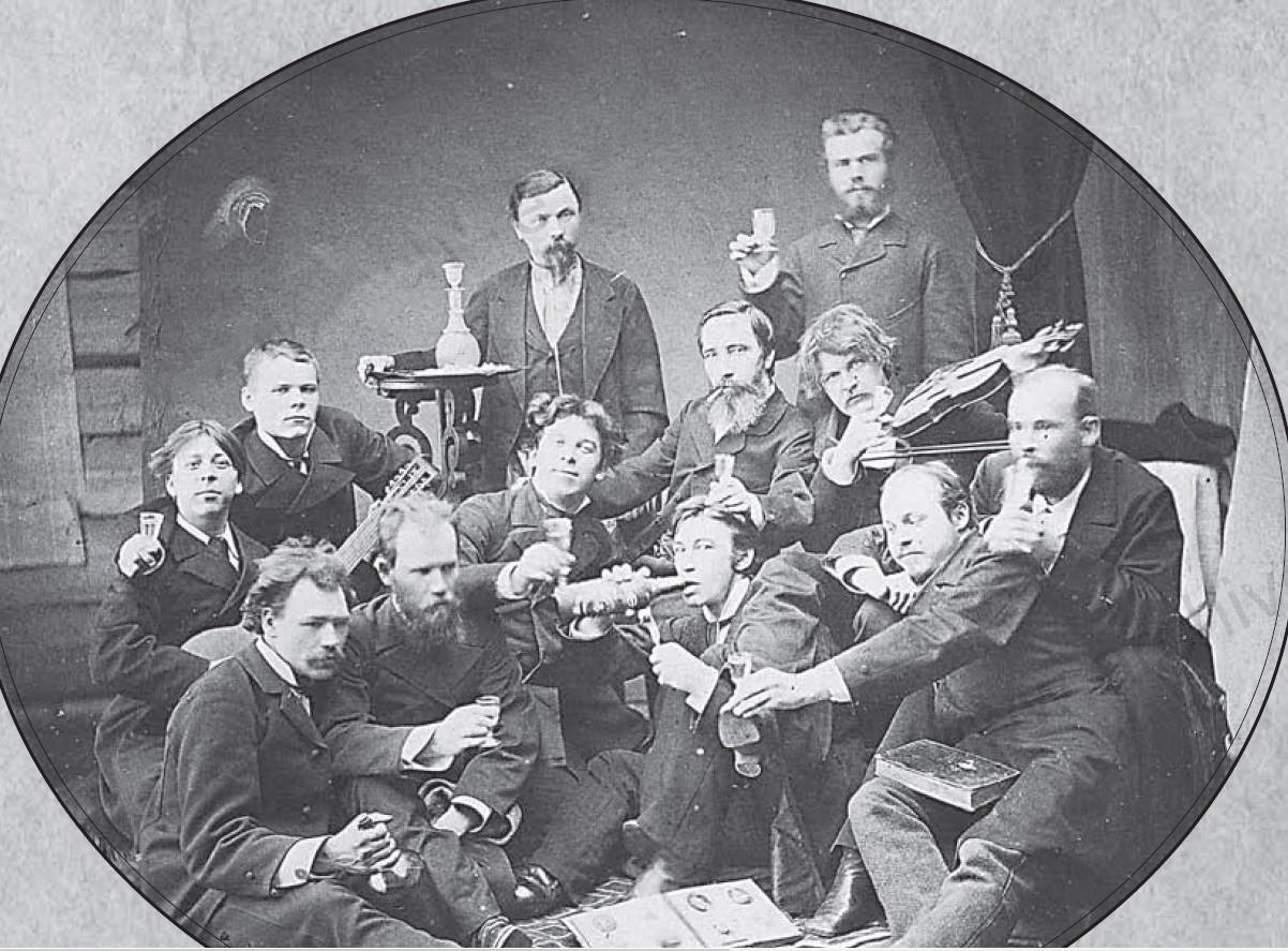 Служащие Кувинского завода во время отдыха