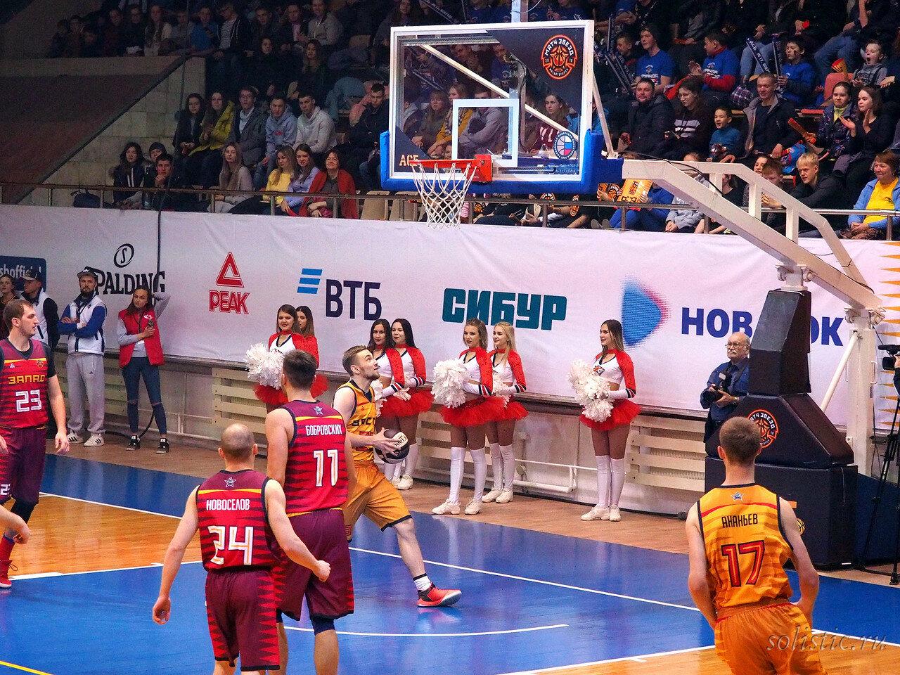 63 Матч звезд АСБ 2018 (ассоциации студенческого баскетбола)