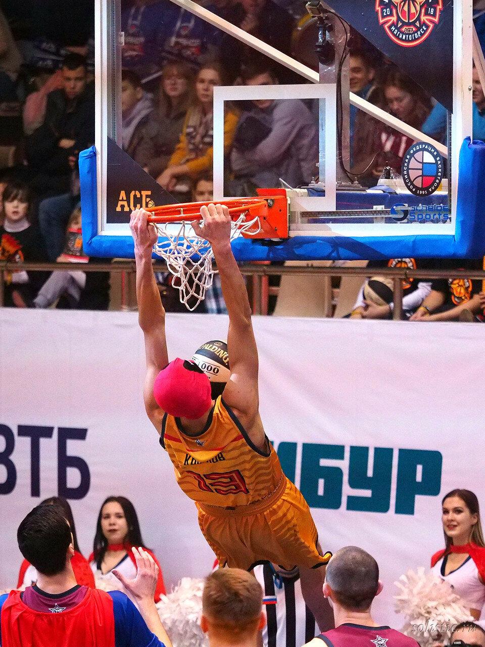 85 Матч звезд АСБ 2018 (ассоциации студенческого баскетбола)