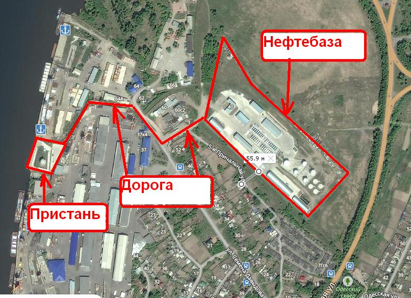 Расположение объектов на Яндекс карте.JPG