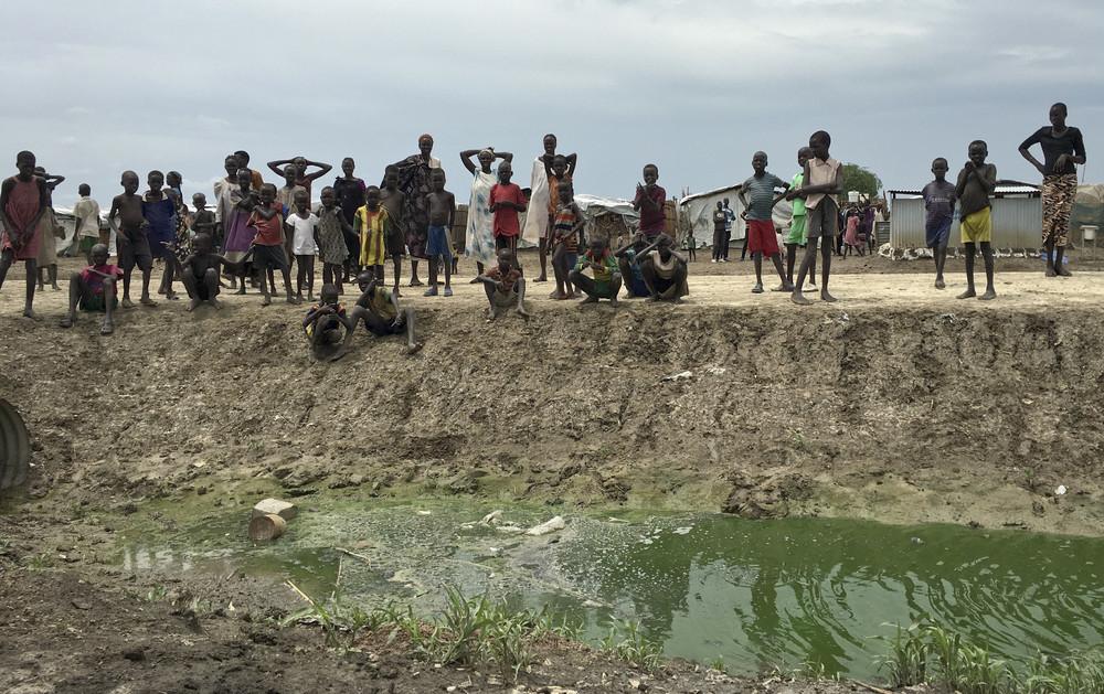 Интересные кадры из Южного Судана