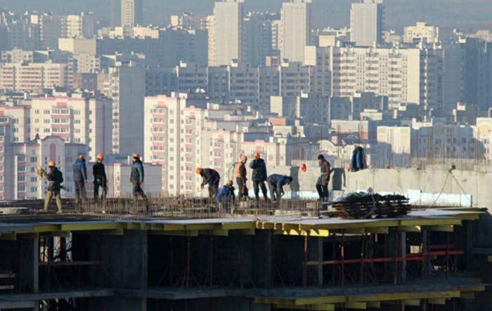 жилье на стадии строительства