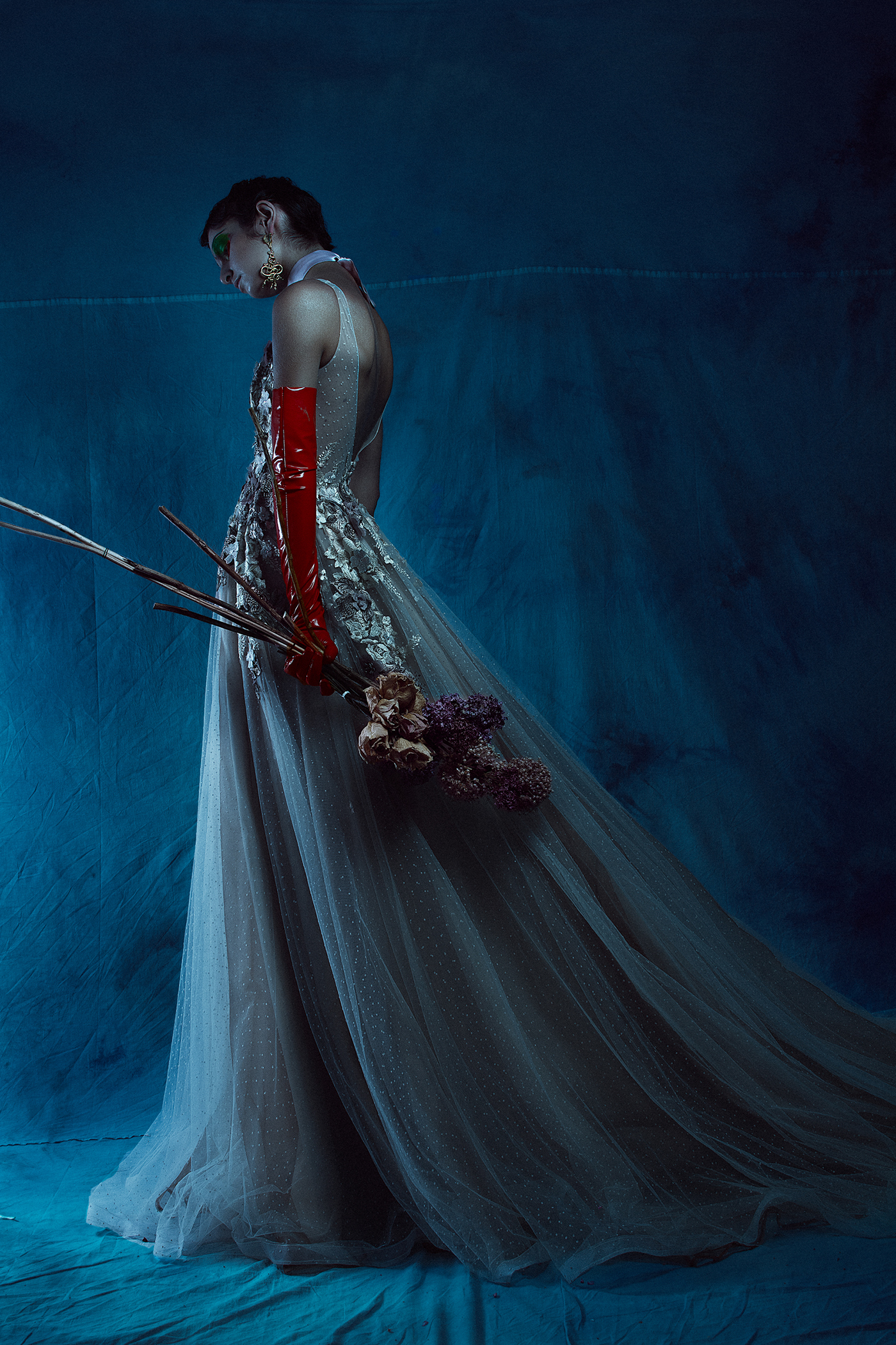 Queen of the abyss для Flesh Magazine / фото Fernando Rodriguez