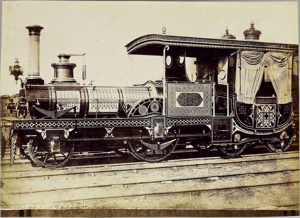 1859. Robert Stephenson and Co. Newcastle-on-Tyne, Egyptian State Railwaysю, for the regent of Egypt
