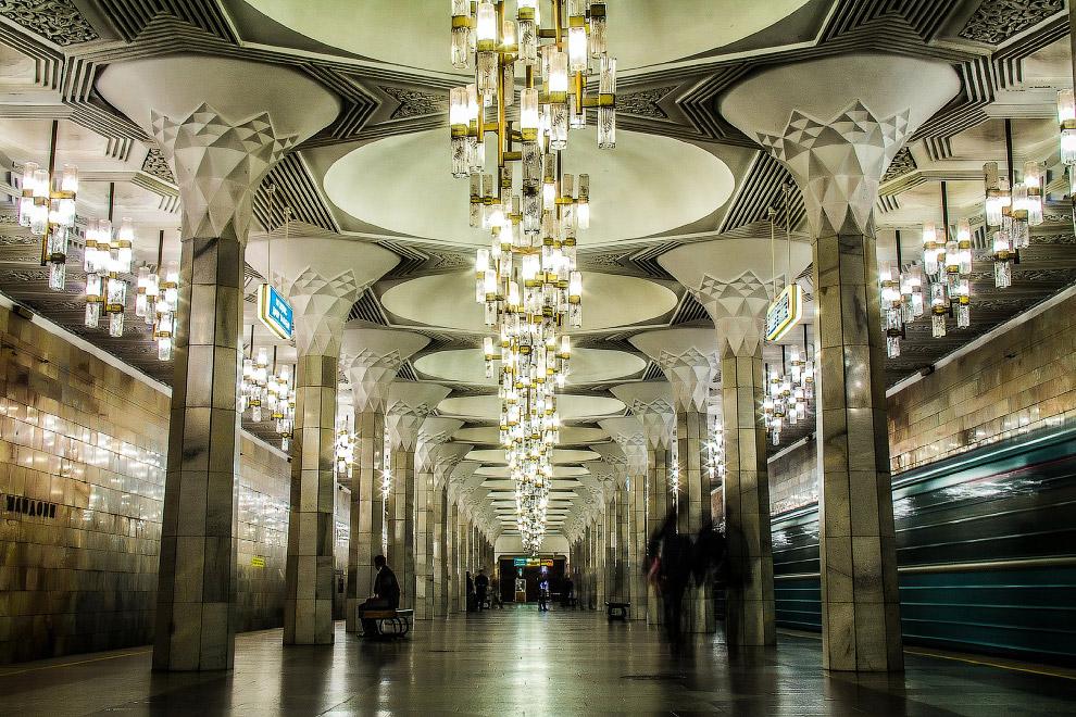 6. Станция «Пахтакор»: