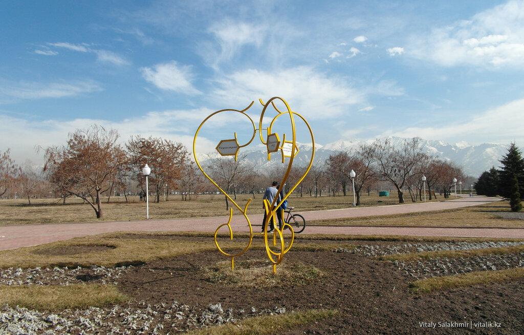 Навигация в Парке Первого Президента
