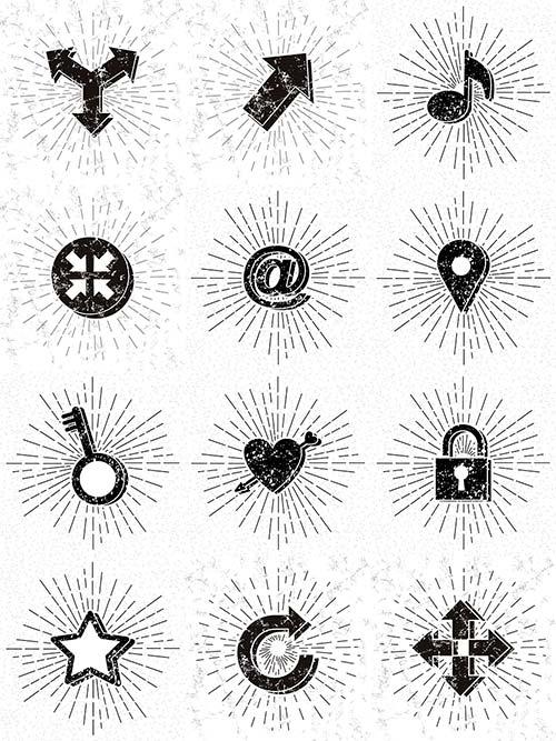 Символы - Вектор / Symbols - Vector