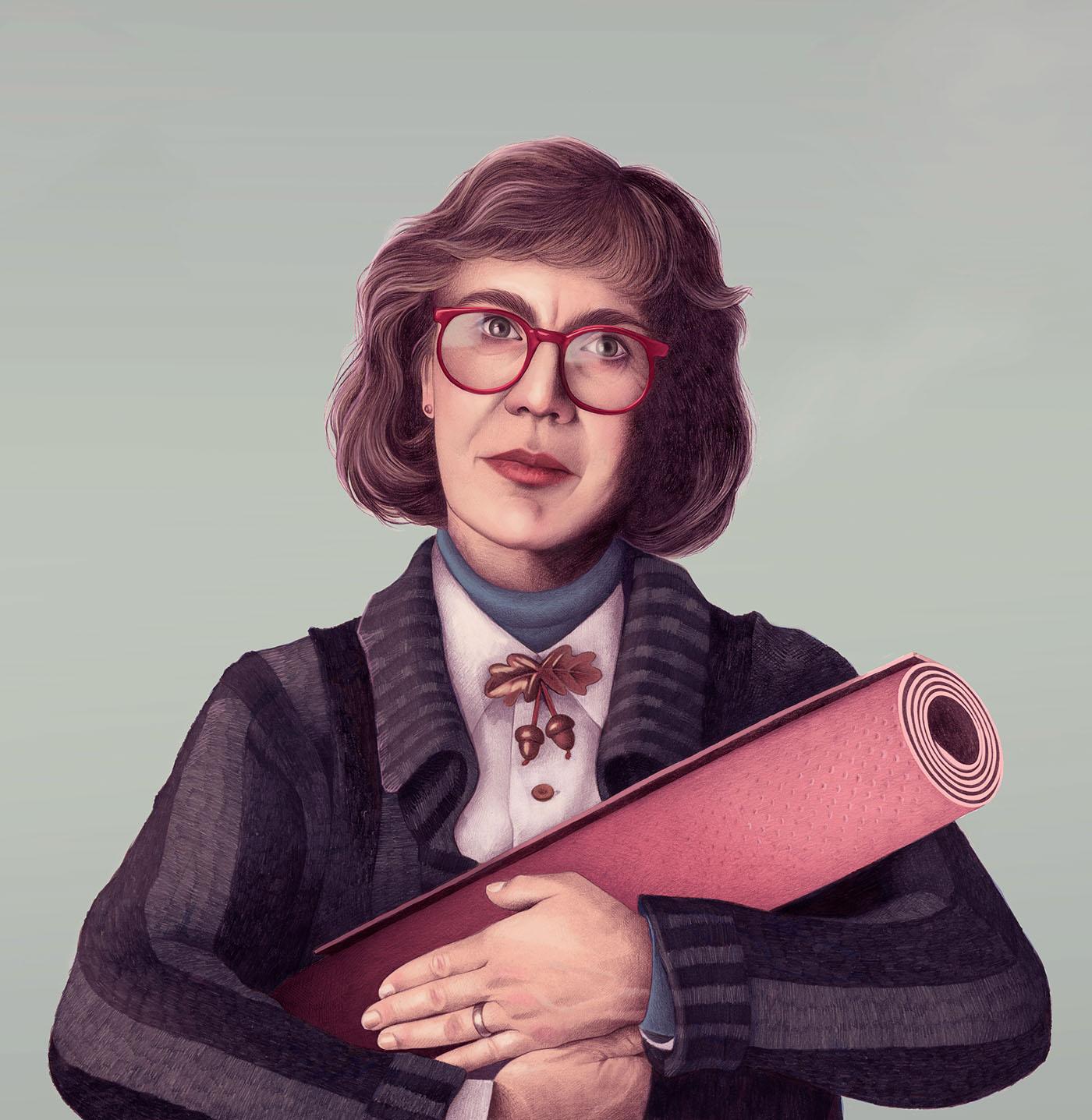 Cinema Portraits by Mercedes de Bellard
