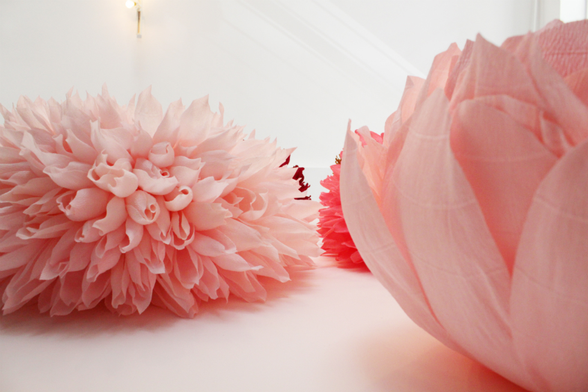 Incredibly Realistic Paper Flowers by Tiffanie Turner