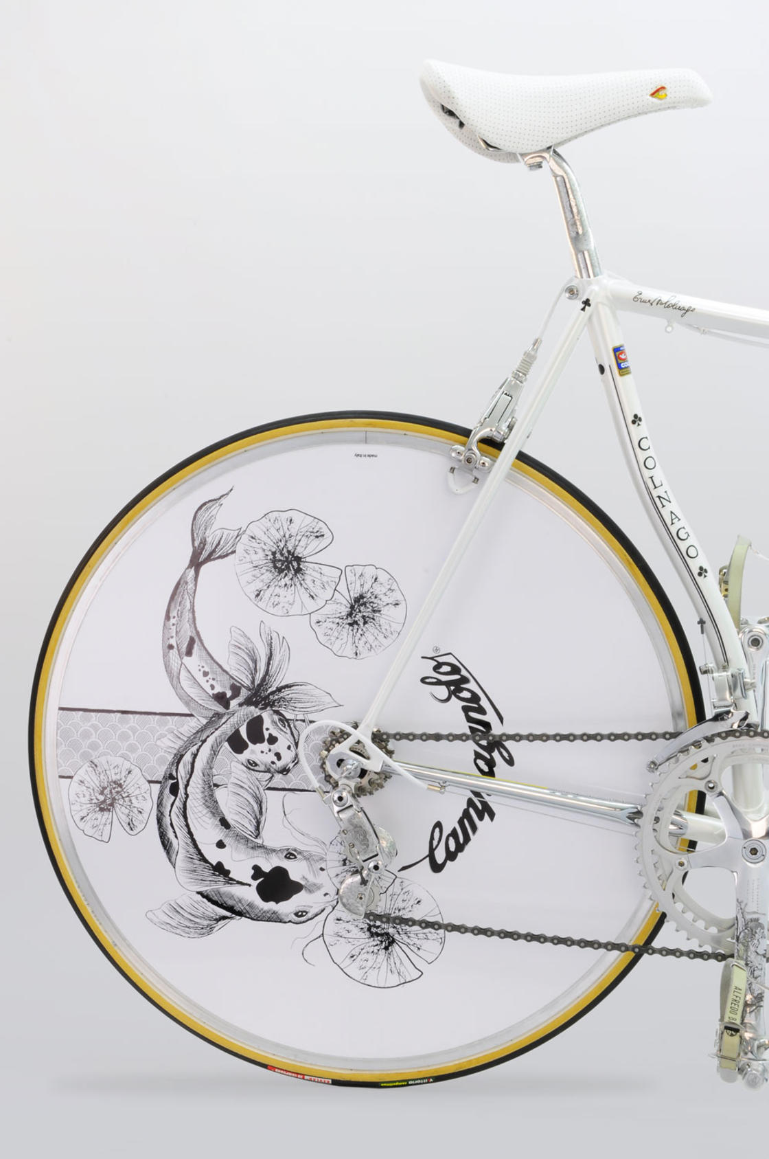 Master Krono – A luxurious bike in tribute to Japanese art